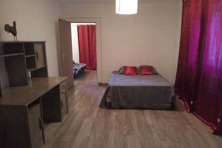 PROMO: 55€/nuit du 23 au 31/8/16 F2 60M2 - Apartment