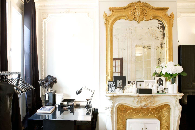 Versailles-like Parisian Studio