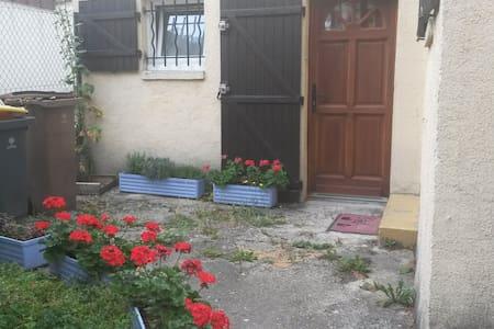 charmante maison et jardin privatif - Dům