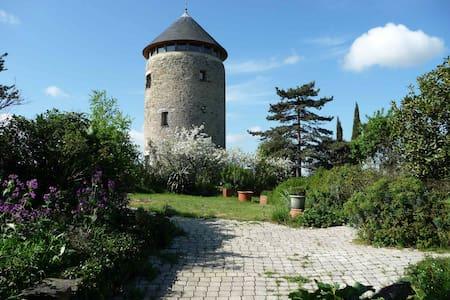 tour d'un moulin à vent,  vue époustouflante - Rochefort-sur-Loire - Vuurtoren