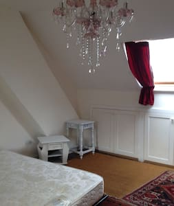 Beautiful spacious double room with a view.... - Glastonbury - Rumah