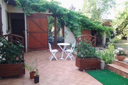Chambre sur jardin - Hus