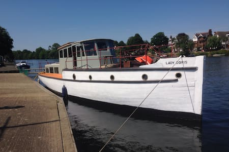 Historic WW2 Ship, Lady Doris!