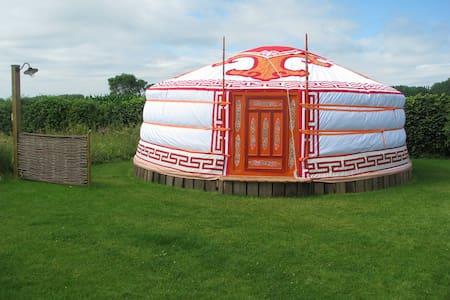 Yurt nabij Brugge - Jurta