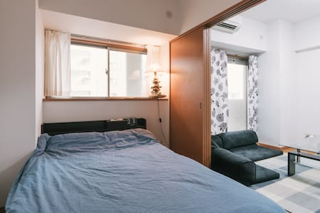Easy to reach Hakata Station(博多駅)10Mins,Tenjin(天神)9Mins By Bus. This apartment is literally an oasis, quiet enough to relax in, and straddling Yahoo! Dome, Fukuoka Tower, and the exciting FUKUOKA DOWNTOWN SCENE!