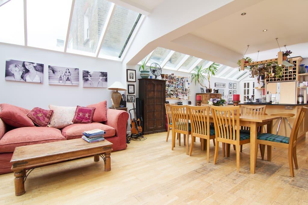 Pretty Double Room near Hammersmith