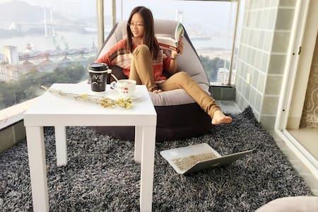 2. Fantastic Sea view Bright Flate - Xiamen - Apartamento