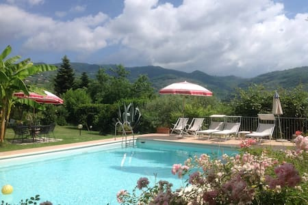 Tuscany bedrooms/pool/ac/wifi - Buggiano - Villa
