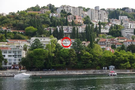 Студия с балконом и видом на море - Herceg - Novi - Apartment
