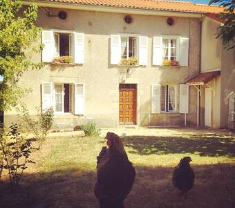 Bedrooms in a farmhouse - Feytiat - Bed & Breakfast