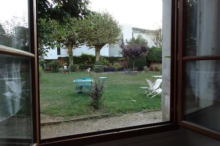 Chambre privée  sur jardin - Voiron