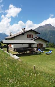 Meraviglioso chalet nel cuore delle Alpi - Sernio