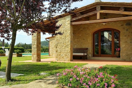 Stone house with private pool Codilungo in Chianti - Vila