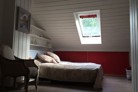 a countryside room for rent - Huis