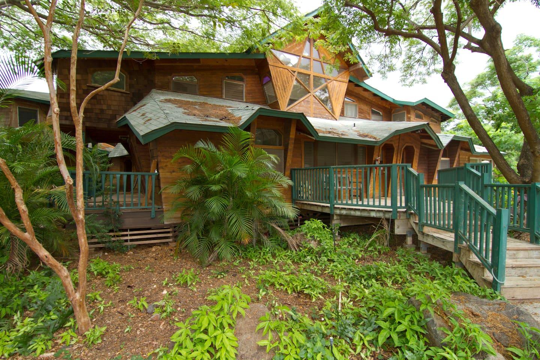 Retreat Home on Farm (Star House)