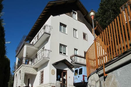 Bright flat on the second floor - Folgaria