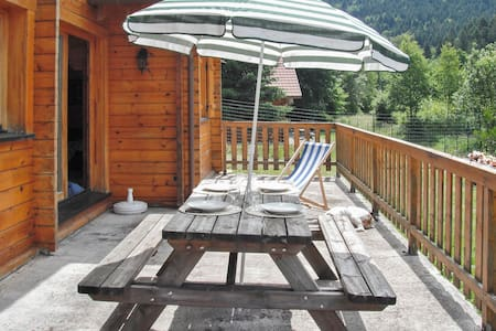 Chalet avec jardin et terrasse - La Bresse - Dağ Evi