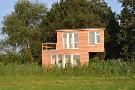 Ferienhaus Krautsand mit Sauna - Hus