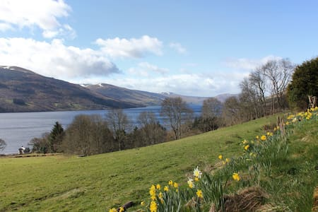 Bunkhouse with amazing Loch views - Andre