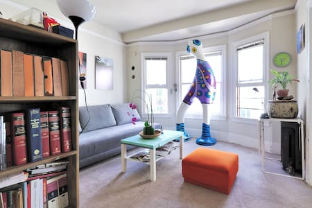 Uber-central and fun SF Apartment