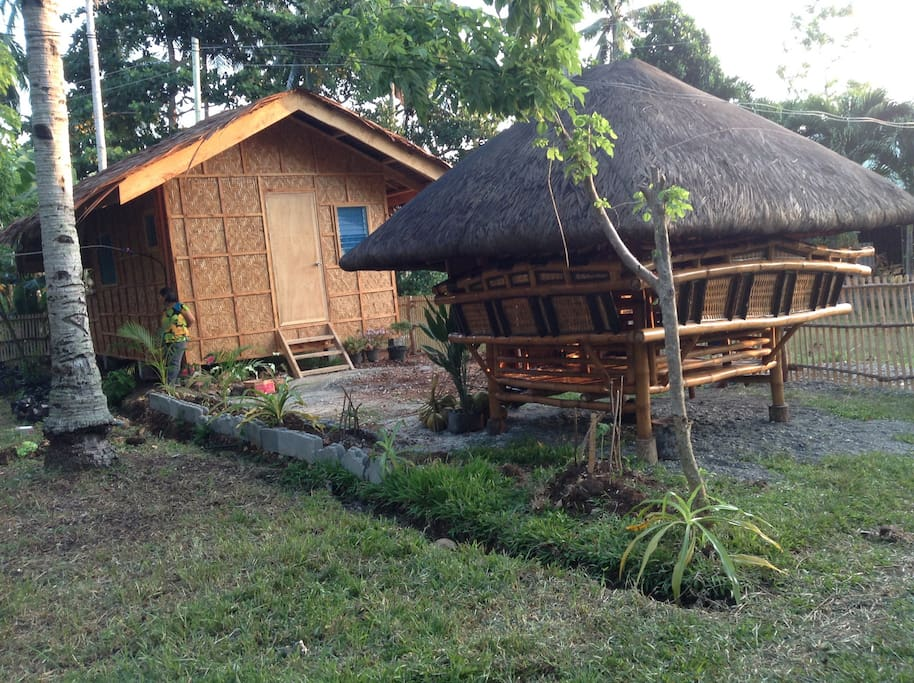 With bamboo cottage,,you can have your own garden