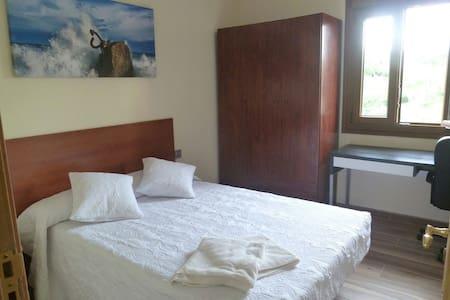 Renewed room in San Sebastian