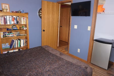 Lovely room next to golf course. - Terre Haute - Casa