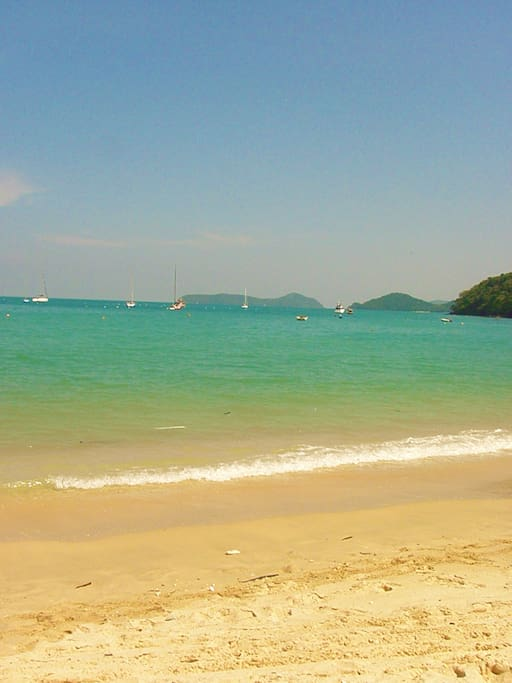 View from Ao Yon beach