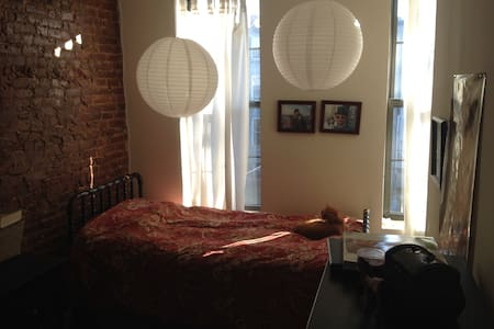 Cool, comfy family home in Brooklyn
