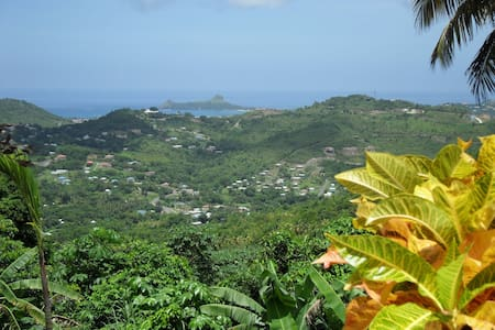 What a view – and with apartment!  - Rodney Bay - Appartement