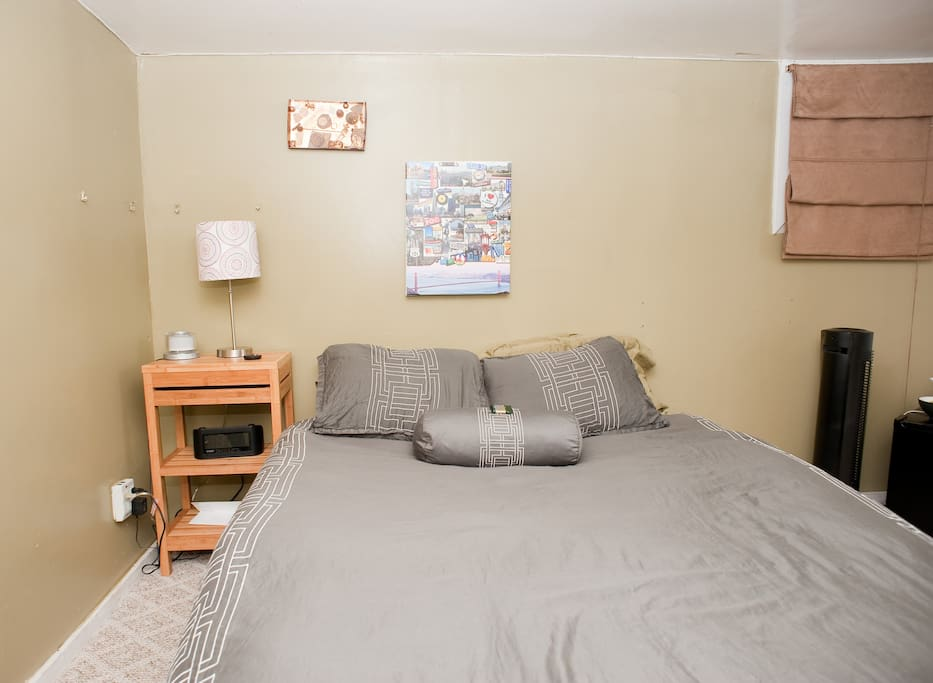 Official Airbnb Photo, but we've improved the room a lot since this was taken 2 years ago.