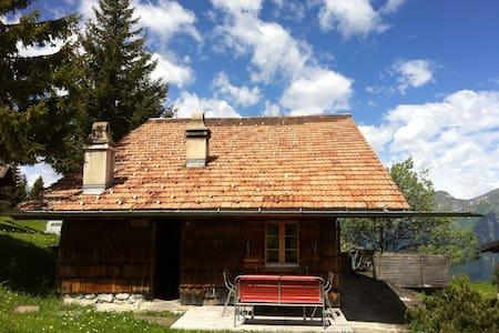 Gemütliche, rustikale Alphütte - Bungalo