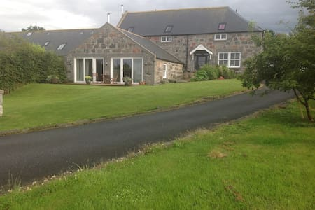 DOUBLE ROOM IN COSY STEADING - Alford  - Hus