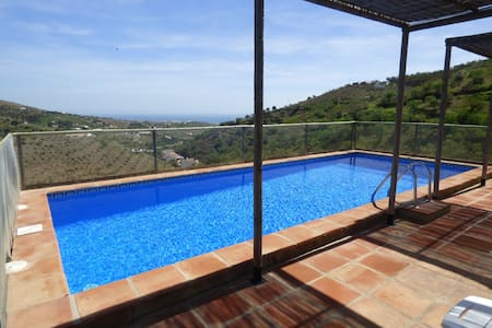PRIVATE HEATED POOL SEA VIEW WIFI - House