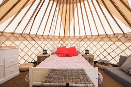 Luxury Yurt at Chafford Park - Yurt