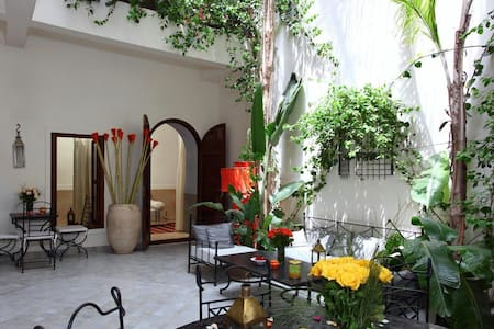 Nice room in a beautiful riad