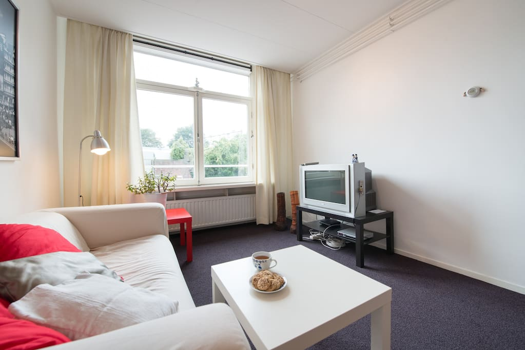 Nice apt. close to Amsterdam CS!!