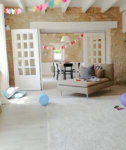 La Rochelle charme & calme 6-8 p - House