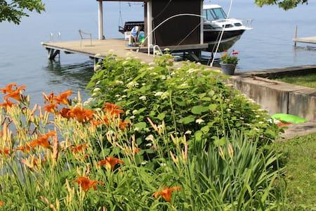 Camp Colden, Cayuga Lake Cottage - King Ferry - Srub