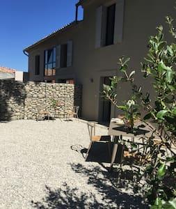 LA RABASSE, Votre Maison de Vacances - Sainte-Cécile-les-Vignes - Huis