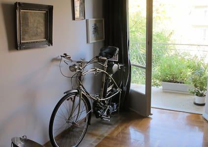 Sunny retro-style apartment