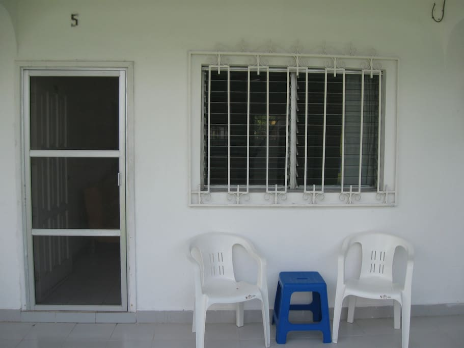 Front of the Apartment