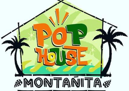 Hostal Pop House Montañita - Montañita - Casa de campo