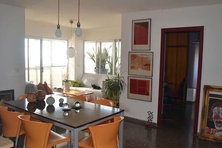 Apartamento de 100m en la playa - Condomínio