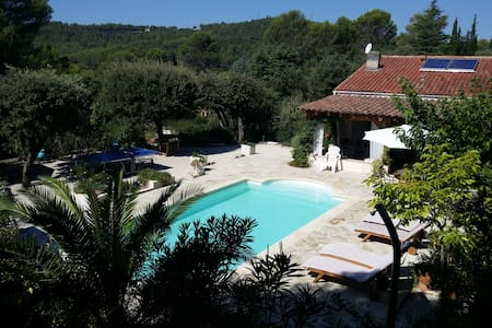 Villa au calme avec  jardin - Taradeau - Casa