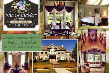 The Grandview Inn Bed & Breakfast Room Demi Suite - Pawhuska
