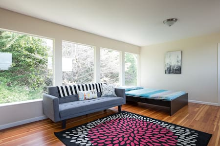 Spacious Private Upper Unit w View - Oakland - Haus