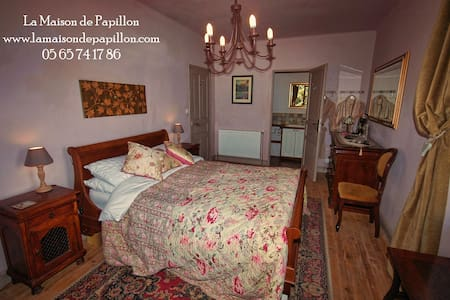Chambre Rose - Gaillac-d'Aveyron - Bed & Breakfast