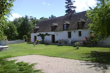 Beautiful Farmhouse in Loire Valley - Huis