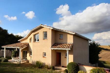 Villa d'architecte proche Toulouse - Saint-Léon